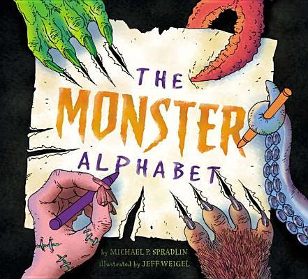 Cover for The Monster Alphabet