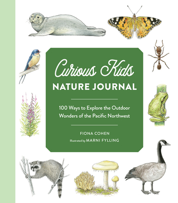 Cover for Curious Kids Nature Journal and Activity Book