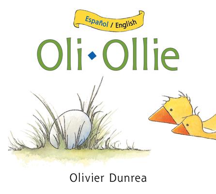 Oli/Ollie bilingual board book (Gossie & Friends) Cover Image