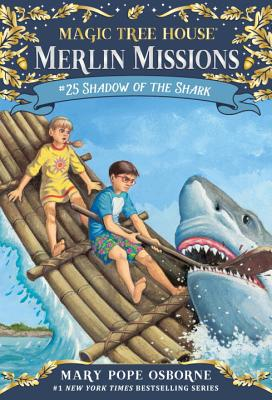 Shadow of the Shark (Magic Tree House (R) Merlin Mission #25) Cover Image
