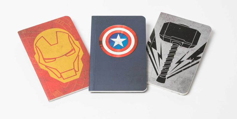 Marvel's Avengers Pocket Notebook Collection (Set of 3) (Comics) Cover Image