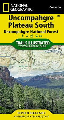 Uncompahgre Plateau South [Uncompahgre National Forest] (National Geographic Trails Illustrated Map #146) Cover Image
