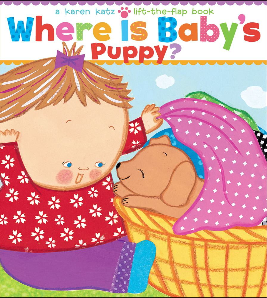 Where Is Baby's Puppy? Cover