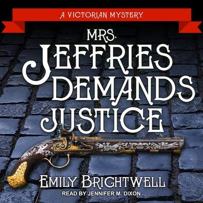 Mrs. Jeffries Demands Justice Lib/E Cover Image