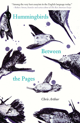 Cover for Hummingbirds Between the Pages (21st Century Essays)
