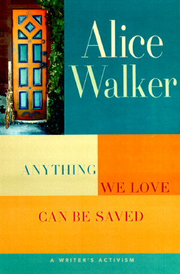 Anything We Love Can Be Saved: Cover