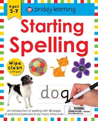 Wipe Clean Workbook: Starting Spelling: An introduction to spelling with 48 pages of practical exercises to do many times over Cover Image