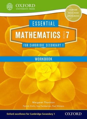 Essential Mathematics for Cambridge Secondary 1 Stage 7 Work Book Cover Image
