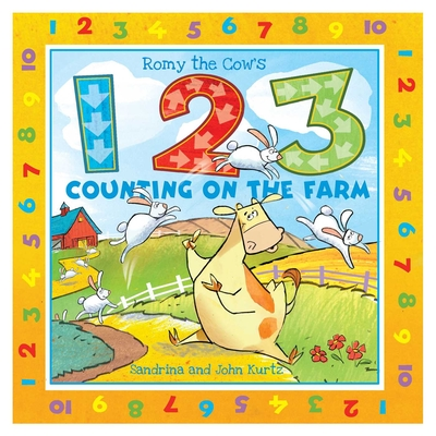 Cover for Romy the Cow's 123 Counting on the Farm