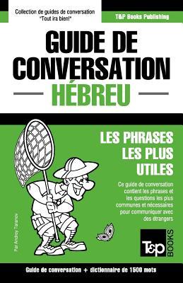 Guide de conversation Français-Hébreu et dictionnaire concis de 1500 mots (French Collection #141) Cover Image