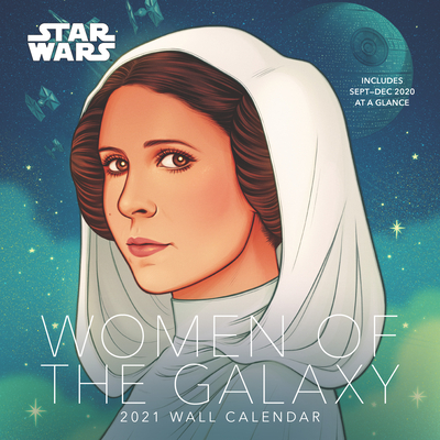Star Wars Women of the Galaxy 2021 Wall Calendar Cover Image