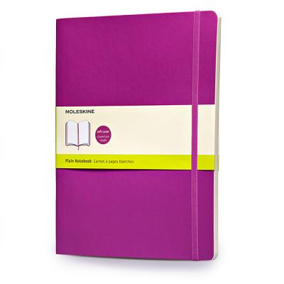 Moleskine Classic Colored Notebook, Extra Large, Plain, Orchid Purple, Soft Cover (7.5 x 10) Cover Image