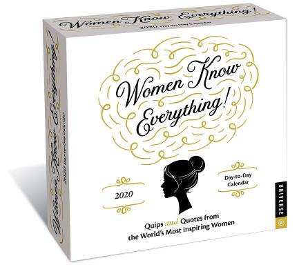 Women Know Everything 2020 Day-to-Day Calendar Cover Image