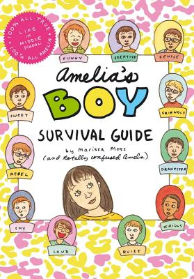Amelia's Boy Survival Guide Cover