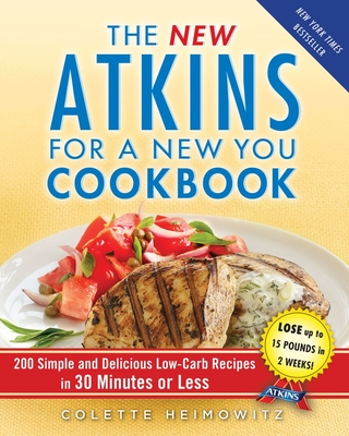 The New Atkins for a New You Cookbook Cover