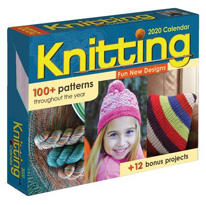 Knitting 2020 Day-to-Day Calendar Cover Image