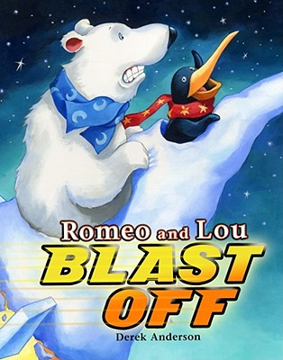 Romeo and Lou Blast Off Cover