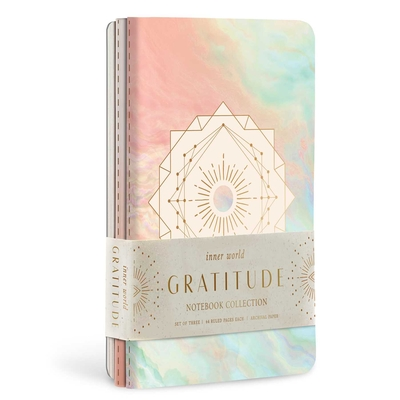 Gratitude Sewn Notebook Collection (Set of 3) (Inner World) Cover Image