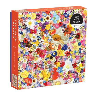 Infinite Bloom 500 Piece Puzzle Cover Image