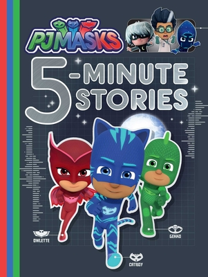 PJ Masks 5-Minute Stories Cover Image