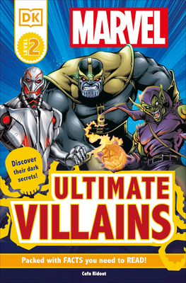 DK Readers L2: Marvel's Ultimate Villains (DK Readers Level 2) Cover Image