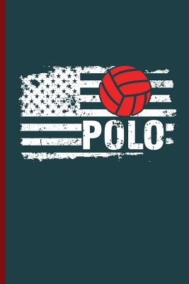 Polo: Water Polo sports notebooks gift (6x9) Dot Grid notebook to write in Cover Image