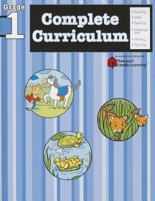 Complete Curriculum, Grade 1 (Flash Kids Harcourt Family Learning) Cover Image