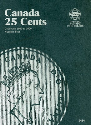 Canada 25 Cents Collection 1990 to 2000 Number Four (Official Whitman Coin Folder) Cover Image