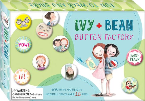 Ivy and Bean Button Factory (Ivy & Bean) Cover Image