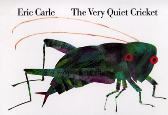 The Very Quiet Cricket Board Book Cover Image