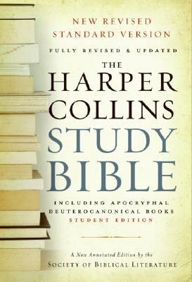 HarperCollins Study Bible-NRSV-Student Cover Image