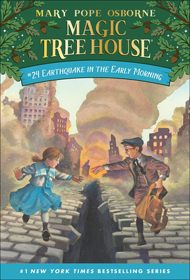 Earthquake in the Early Morning (Magic Tree House #24) Cover Image