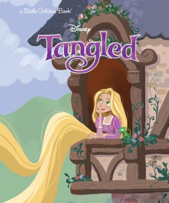 Tangled (Disney Tangled) (Little Golden Book) Cover Image
