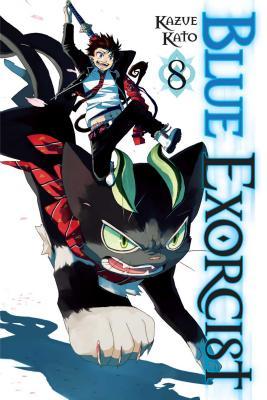 Blue Exorcist, Volume 8 Cover