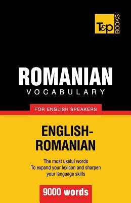 Romanian vocabulary for English speakers - 9000 words Cover Image