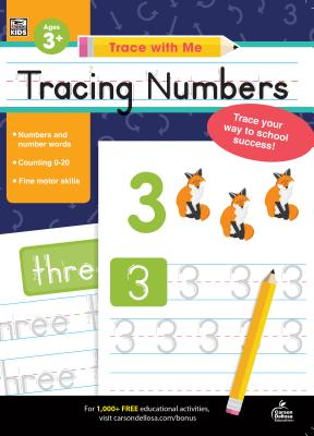Trace with Me Tracing Numbers Cover Image