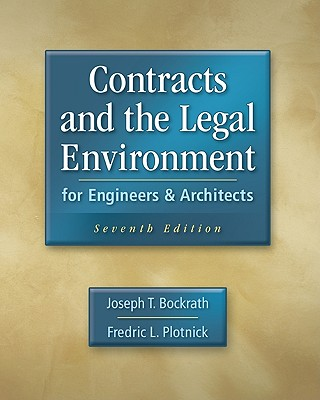 Contracts and the Legal Environment for Engineers and Architects Cover Image
