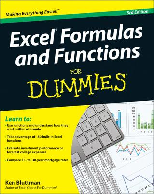 Excel Formulas and Functions for Dummies Cover