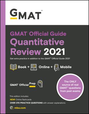 GMAT Official Guide Quantitative Review 2021 Cover Image