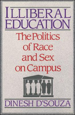 Cover for Illiberal Education