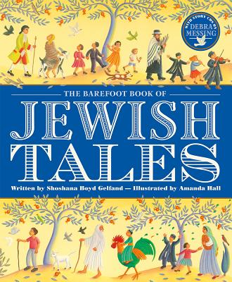 Cover for The Barefoot Book of Jewish Tales [With 2 CDs]