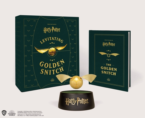 Harry Potter Levitating Golden Snitch Cover Image