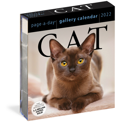 Cat Page-A-Day Gallery Calendar 2022: A Year of Protraits That Capture the Independence, Attitude, and Grace of 365 Felines. Cover Image