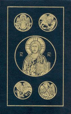 The New Testament And Psalms: Revised Standard Version, Dark Blue, Second Catholic Edition Cover Image