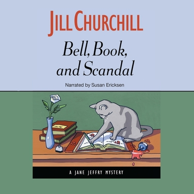 Bell, Book, and Scandal (Jane Jeffry Mysteries (Audio) #14) Cover Image