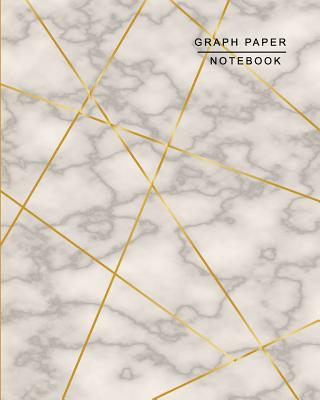 Graph Paper Notebook: Graph Paper Composition Notebook, Quad Ruled 4 squares per inch,8x10 (Notebooks For Students), Marble Cover Cover Image