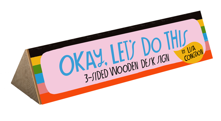 Okay, Let's Do This Desk Sign Cover Image