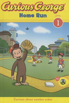 Home Run (Curious George: Level 1) Cover Image