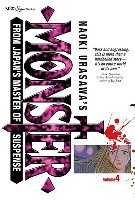 Naoki Urasawa's Monster, Vol. 4 Cover