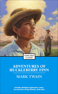 The Adventures of Huckleberry Finn (Enriched Classics (Pb)) Cover Image